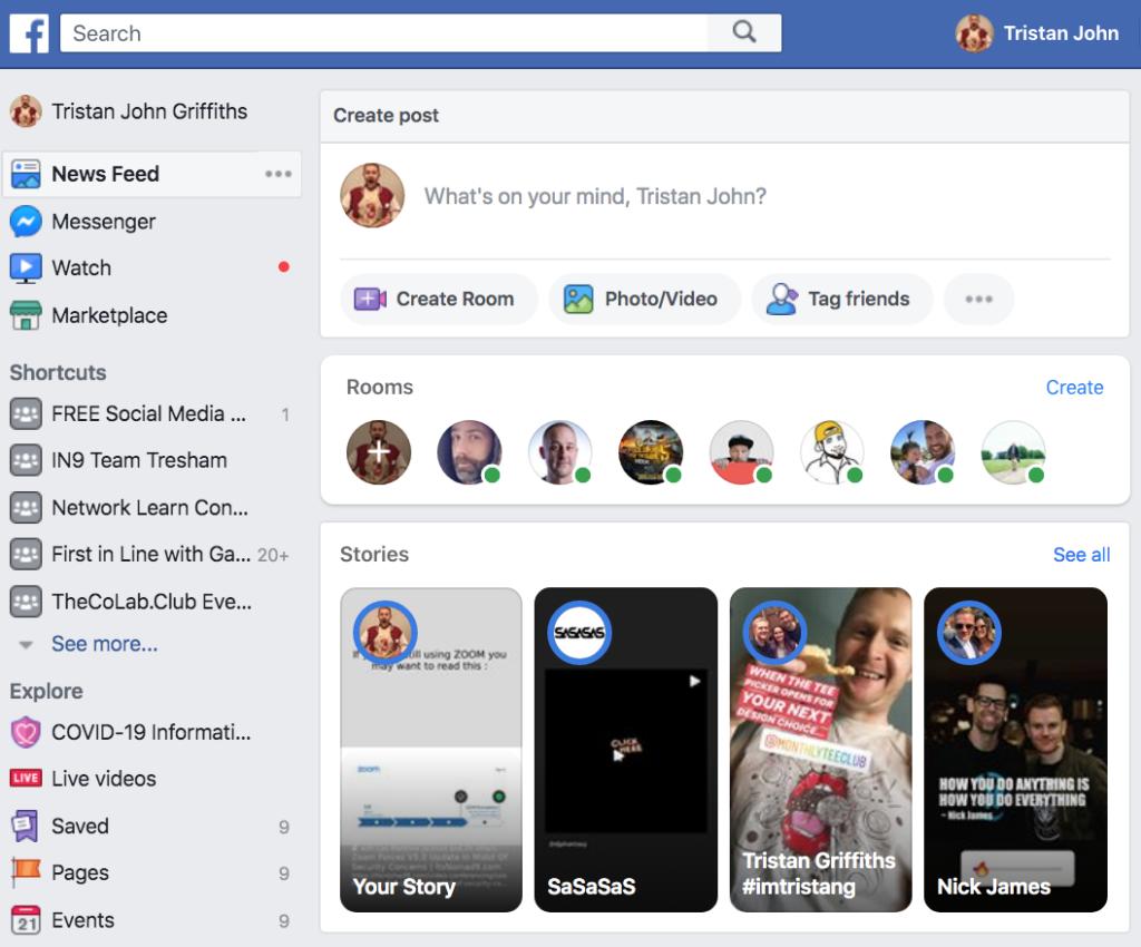 Facebook Rooms 2