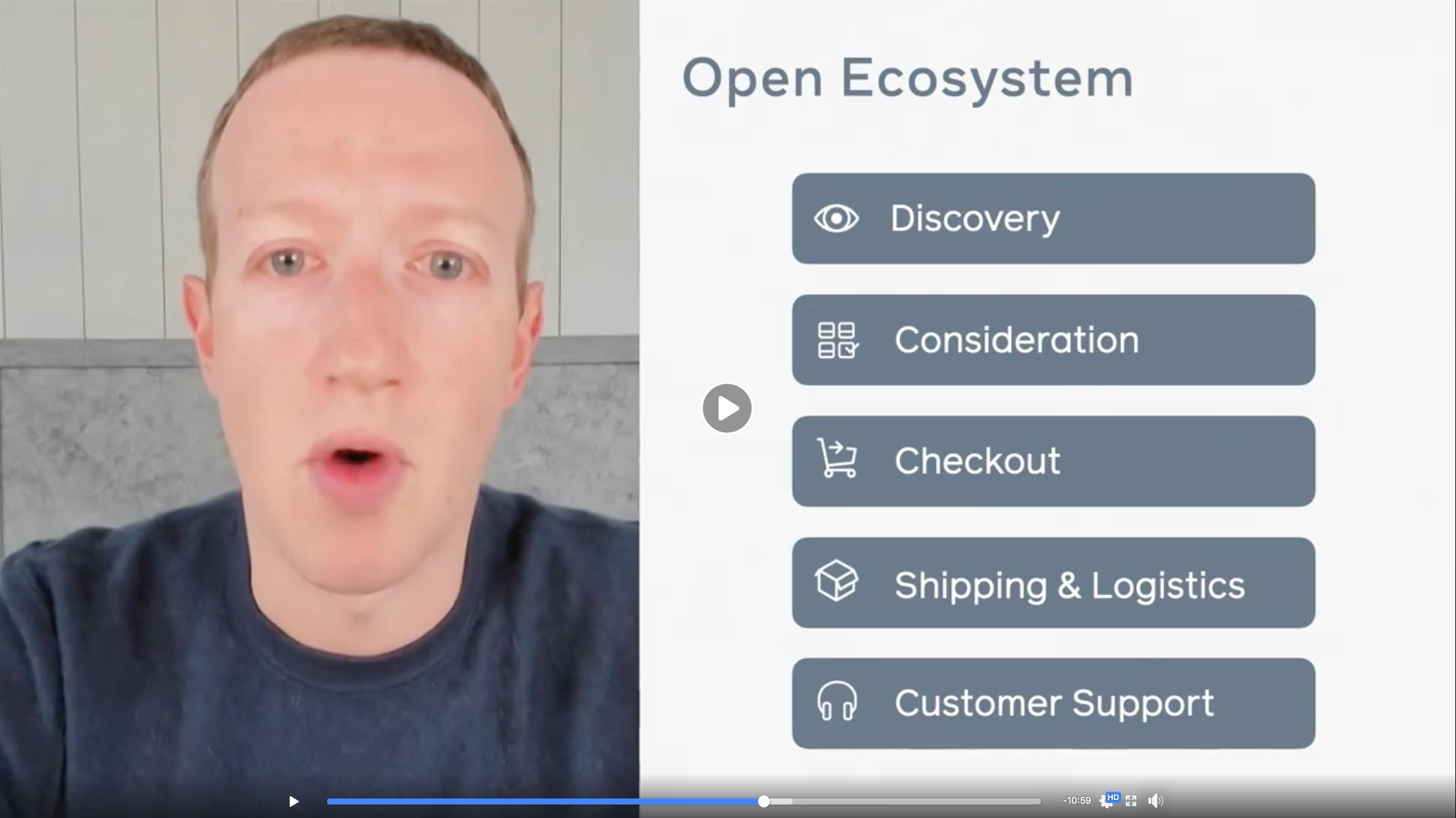 Facebook Shops - open ecosystem