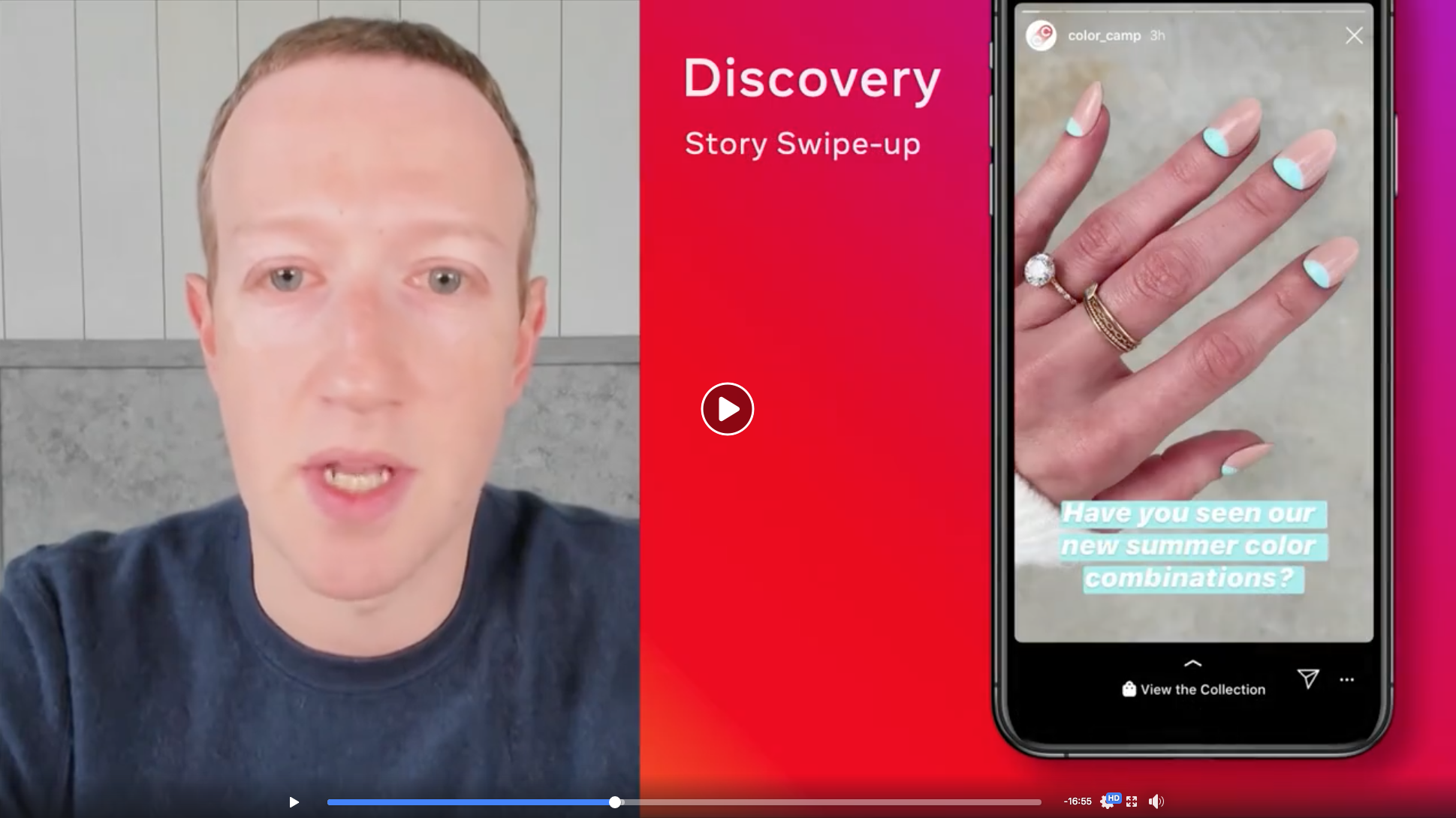 Facebook Shops - discovery