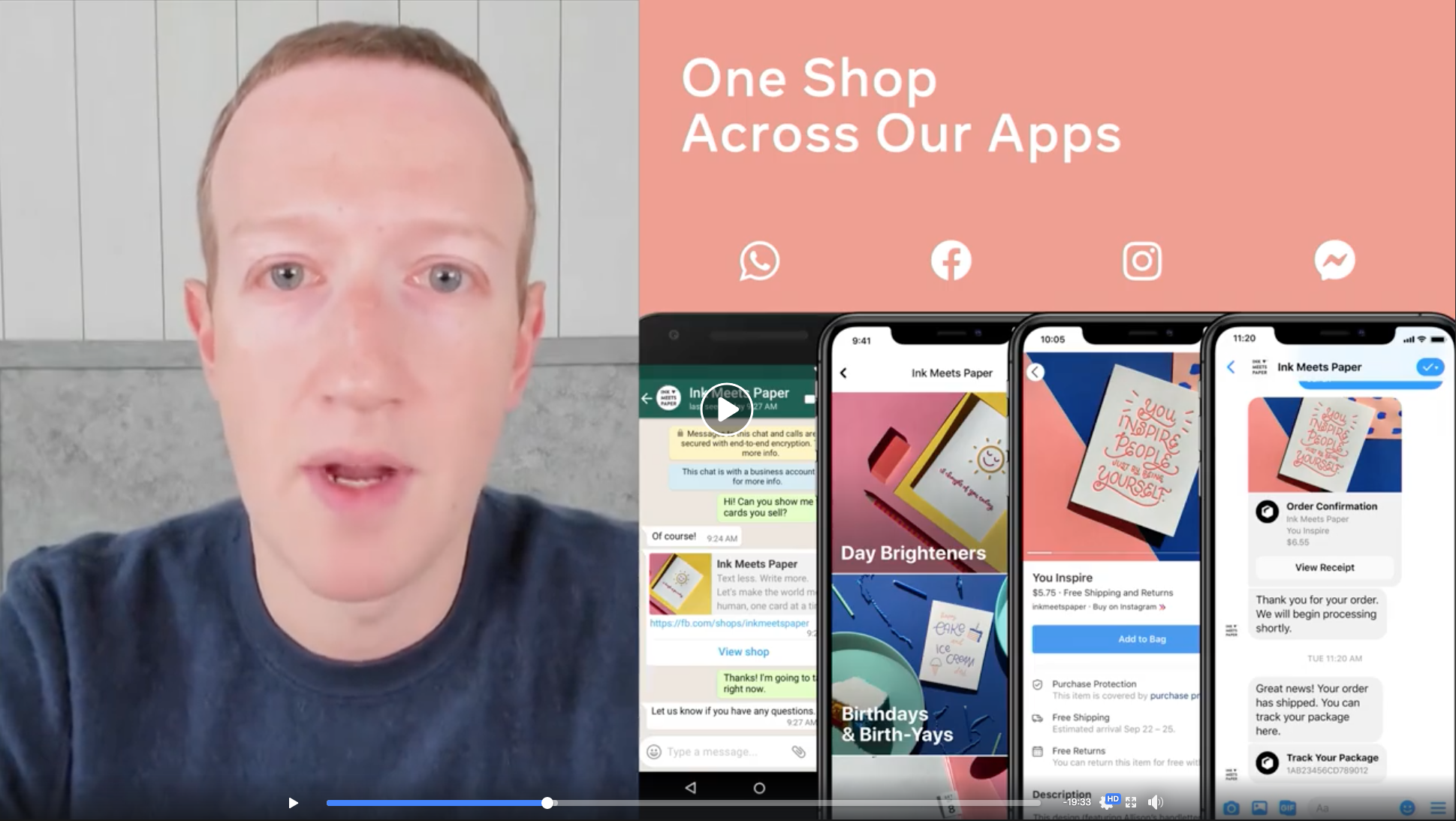 Facebook Shops - One Shop Across All Facebook Apps
