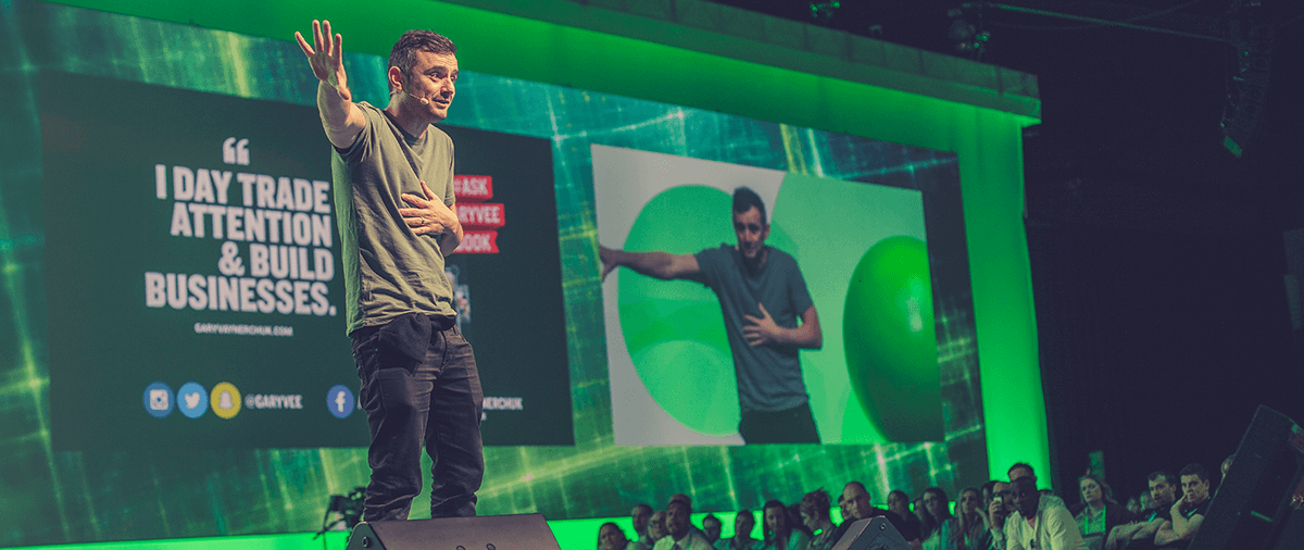 Photographing @GaryVee at ICON 2016 [ Gary Vaynerchuk Press Pack Photo ]