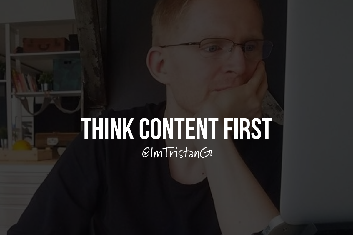 Thinkcontentfirst